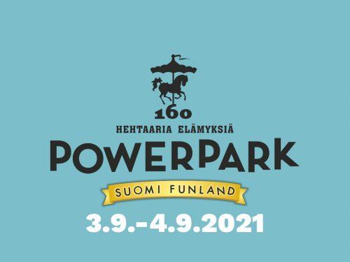 Powerpark tapahtuma 3.9.-4.9.2021
